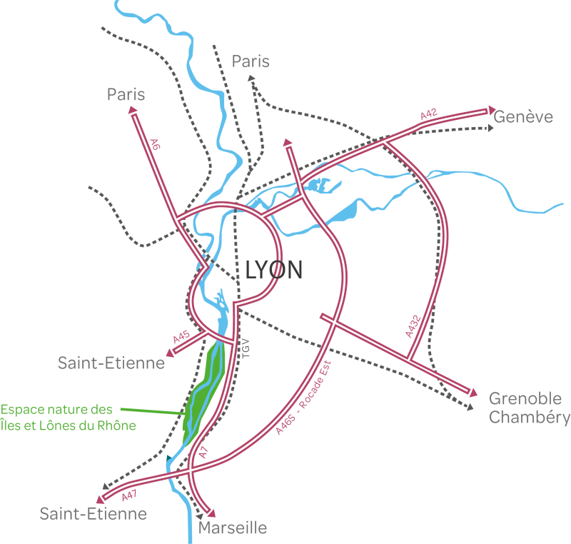 carte de situation du SMIRIL
