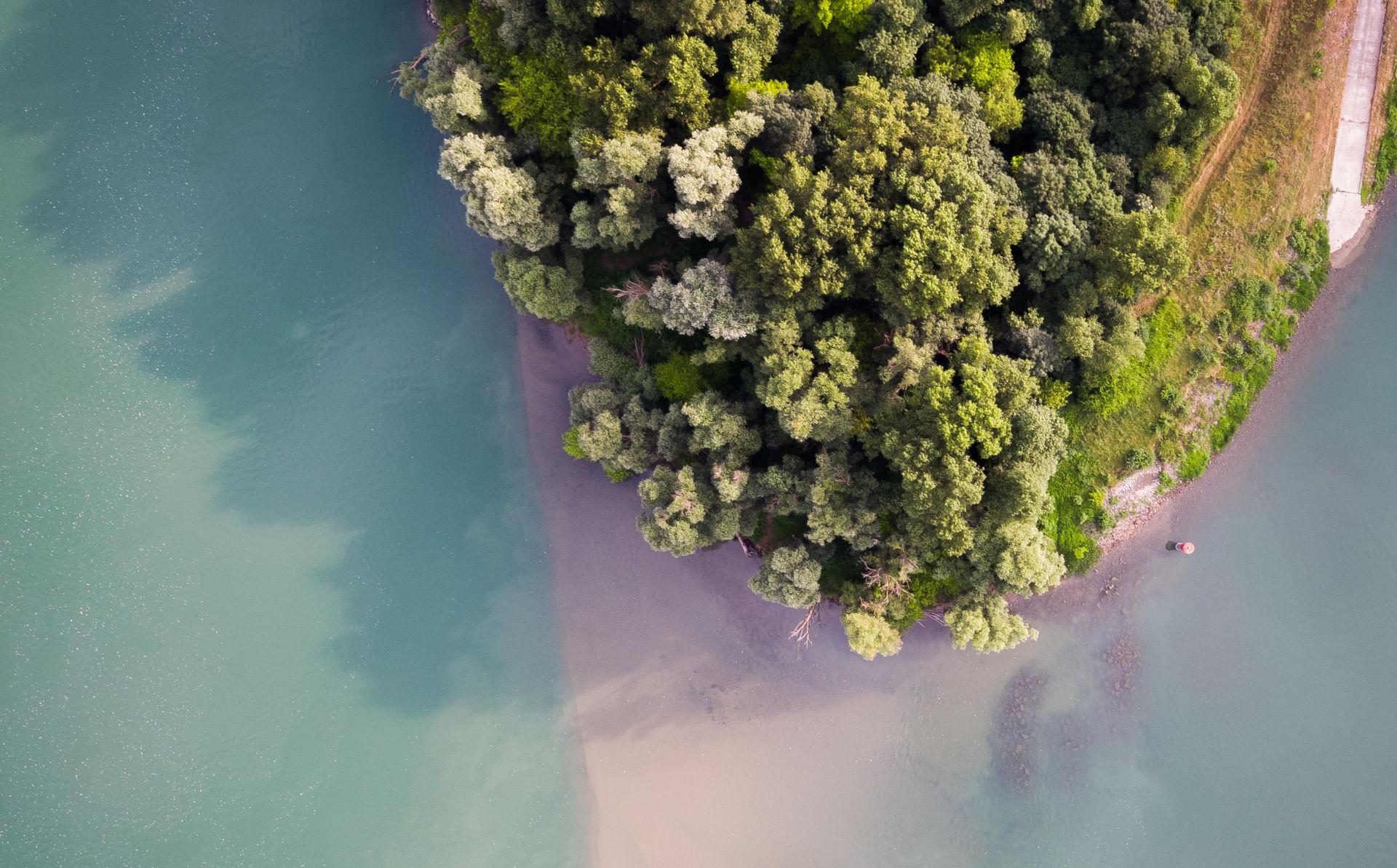 Espace nature des Îles et Lônes du Rhône ~ SMIRIL