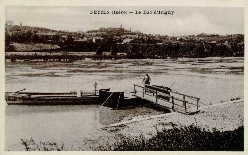 Bac à traille d'Irigny-Feyzin