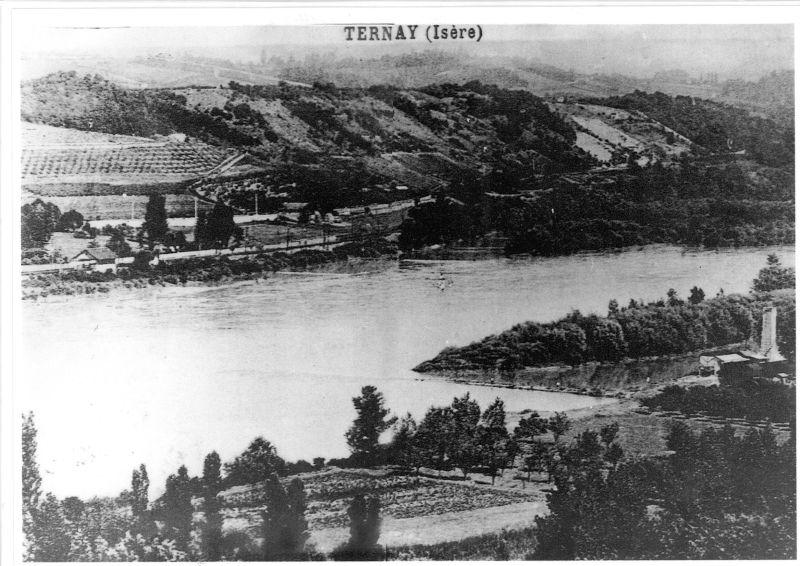 Le Rhône vu de Ternay