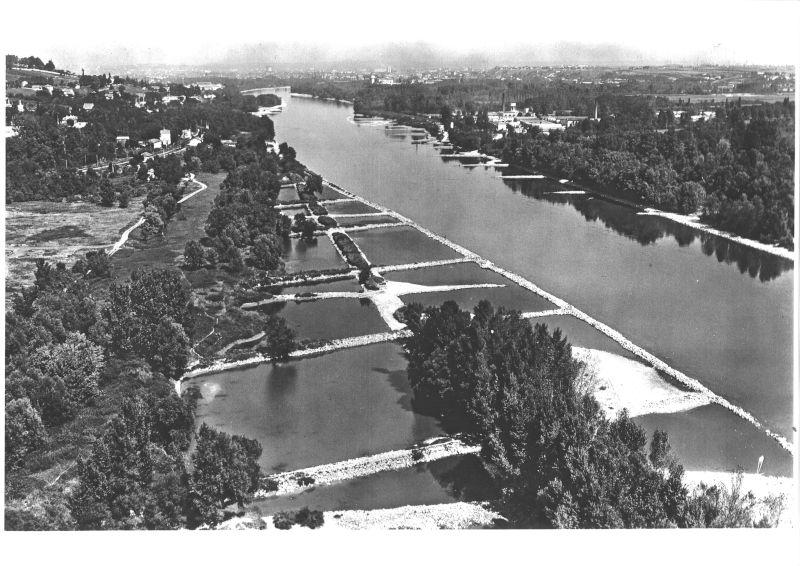 Casiers Girardon, Irigny, en 1957