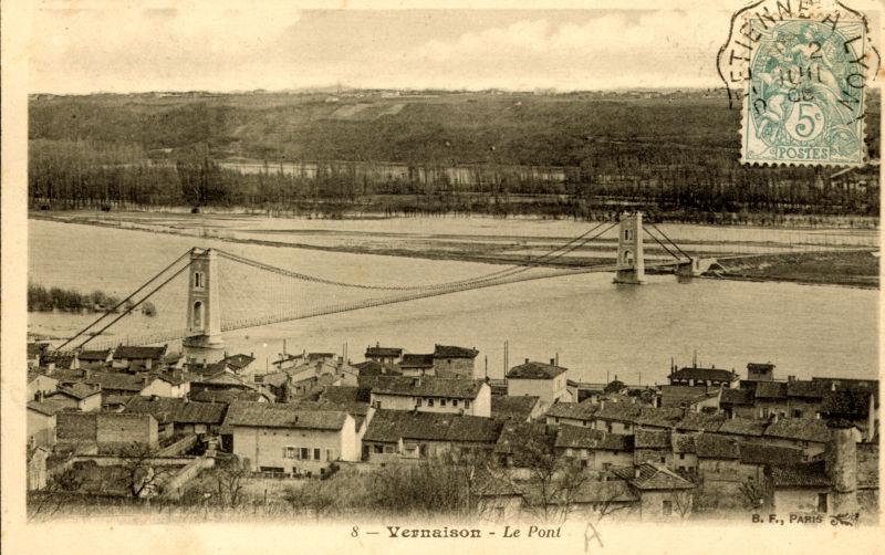 Le pont de Vernaison