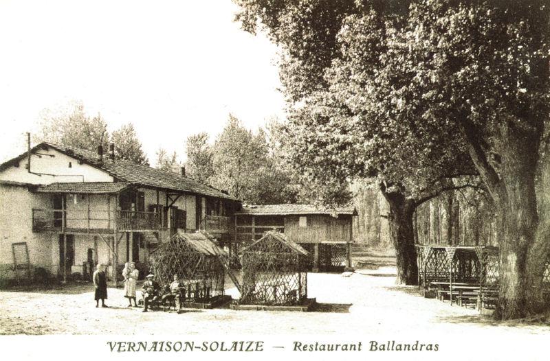 Le restaurant Ballandras à Solaize