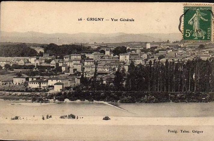 Vue générale de Grigny
