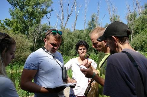 Concentration pour nos naturalistes